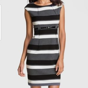 Calvin Klein Ponte Knit Sheath Dress